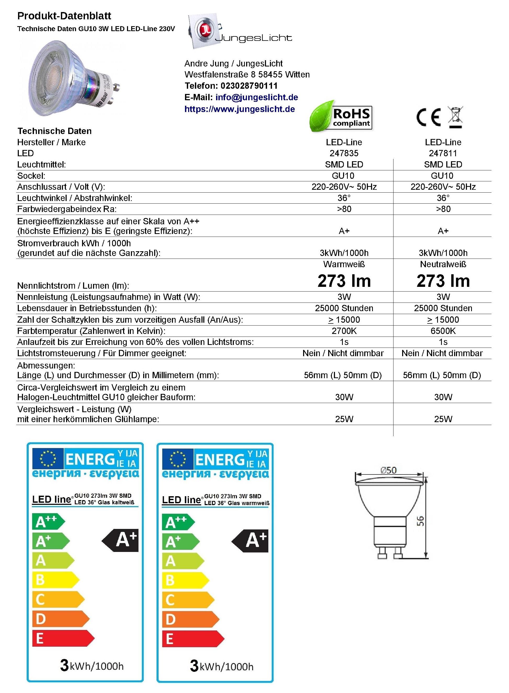 GU10-3W-Glas-LED